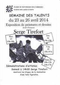 affiche Serge