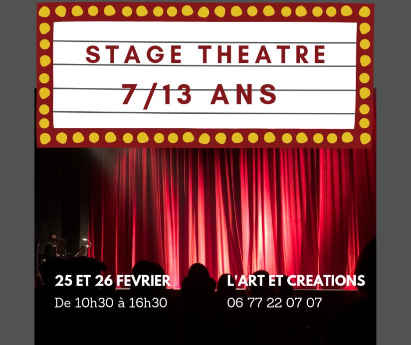 stage théâtre février