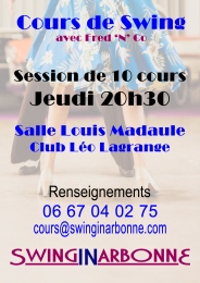 Session Swing Jeudi Leo